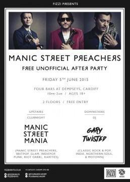 Manic Street Preachers After Party