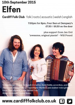 Cardiff Folk Club: Elfen