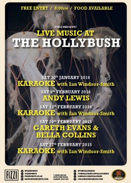 The Hollybush: January and February Live Music