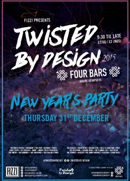Twisted By Design NYE
