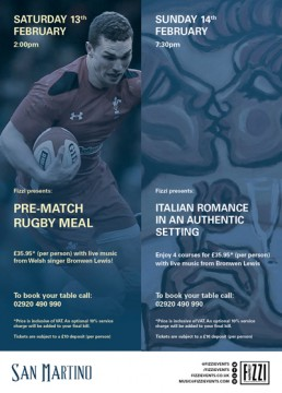 San Martino: Rugby & Valentines Nights