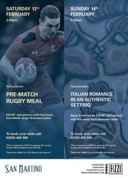 San Martino: Rugby & Valentines Nights