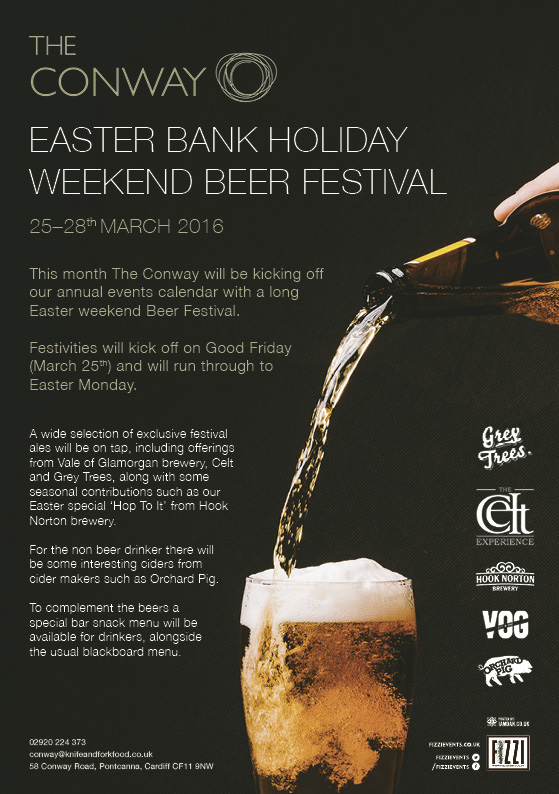 The Conway Easter Bank Holiday Beer Festival