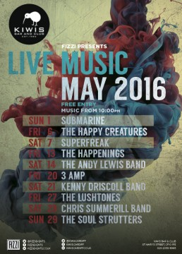 Kiwis: May Live Music