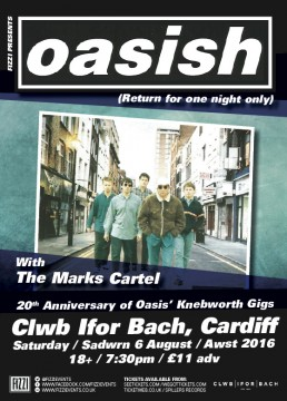 Oasish (20th Anniversary of Oasis' Knebworth gigs)