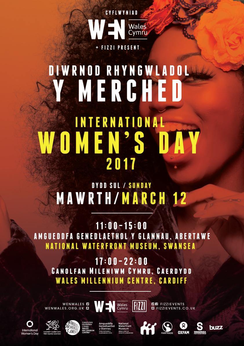 International Women's Day/Diwrnod Rhyngwladol Y Merched 2017