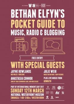 Bethan Elfyn's Pocket Guide To Music, Radio & Blogging Swansea