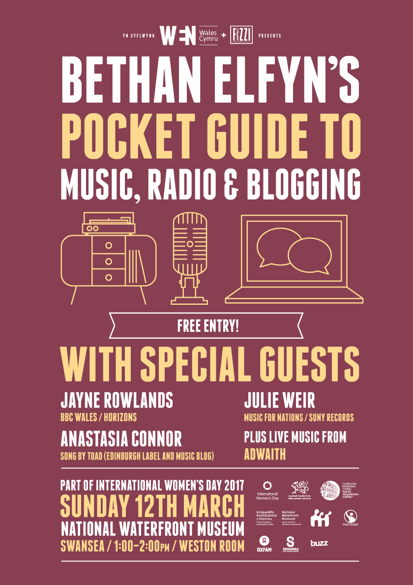 Bethan Elfyn's Pocket Guide To Music, Radio & Blogging Swansea