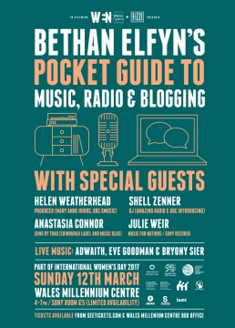 Bethan Elfyn's Pocket Guide To Music, Radio & Blogging Cardiff