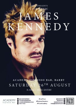 James Kennedy – Academy Espresso Bar, Barry