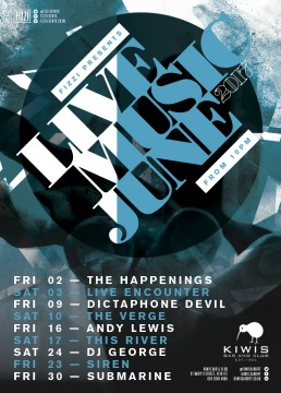 Kiwis: June 2017 Live Music