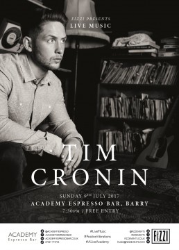 Tim Cronin, Academy Espresso Bar, Barry
