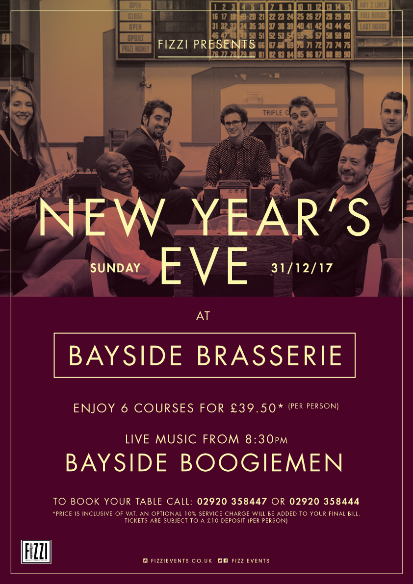 New Year's Eve, Bayside Brasserie