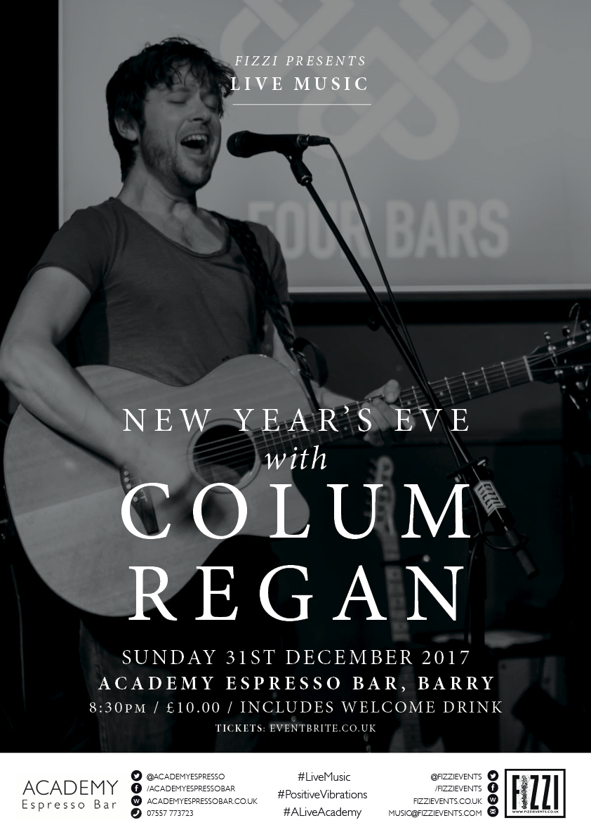 Colum Regan, New Year's Eve, Barry