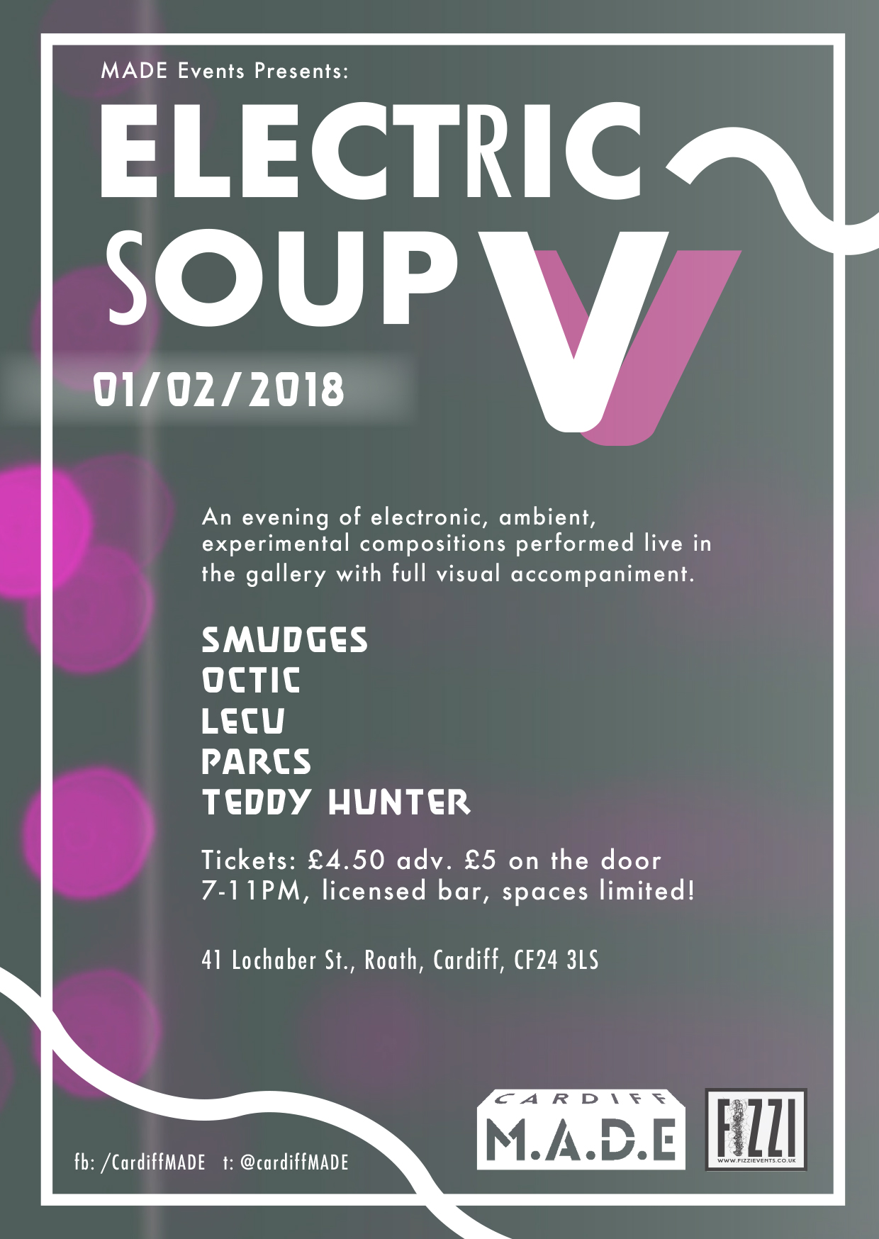 Electric Soup V – Cardiff M.A.D.E