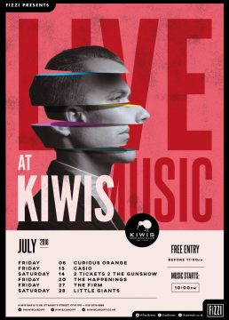 Kiwis – Live Music July 2017