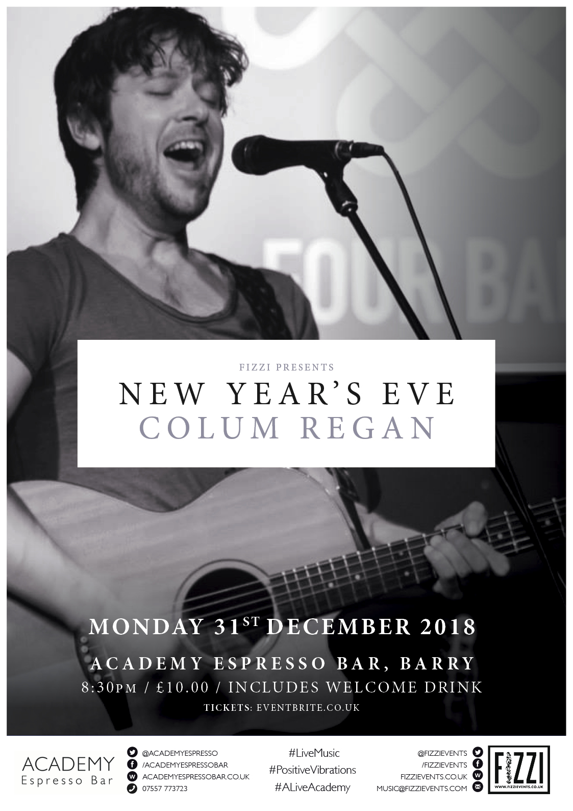 Colum Regan – New Year's Eve 2018