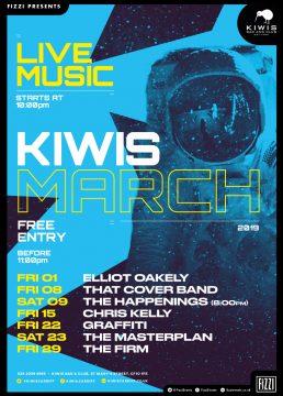 Kiwis March 2019
