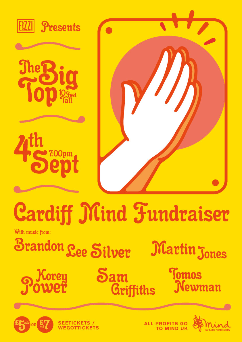 Cardiff Mind Fundraiser – The Big Top (10 Feet Tall)