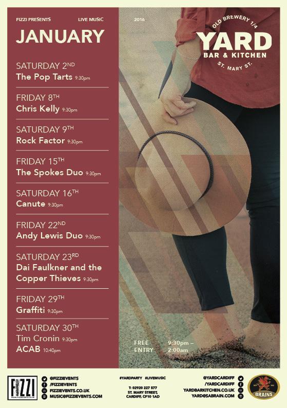 The Yard: January Live Music