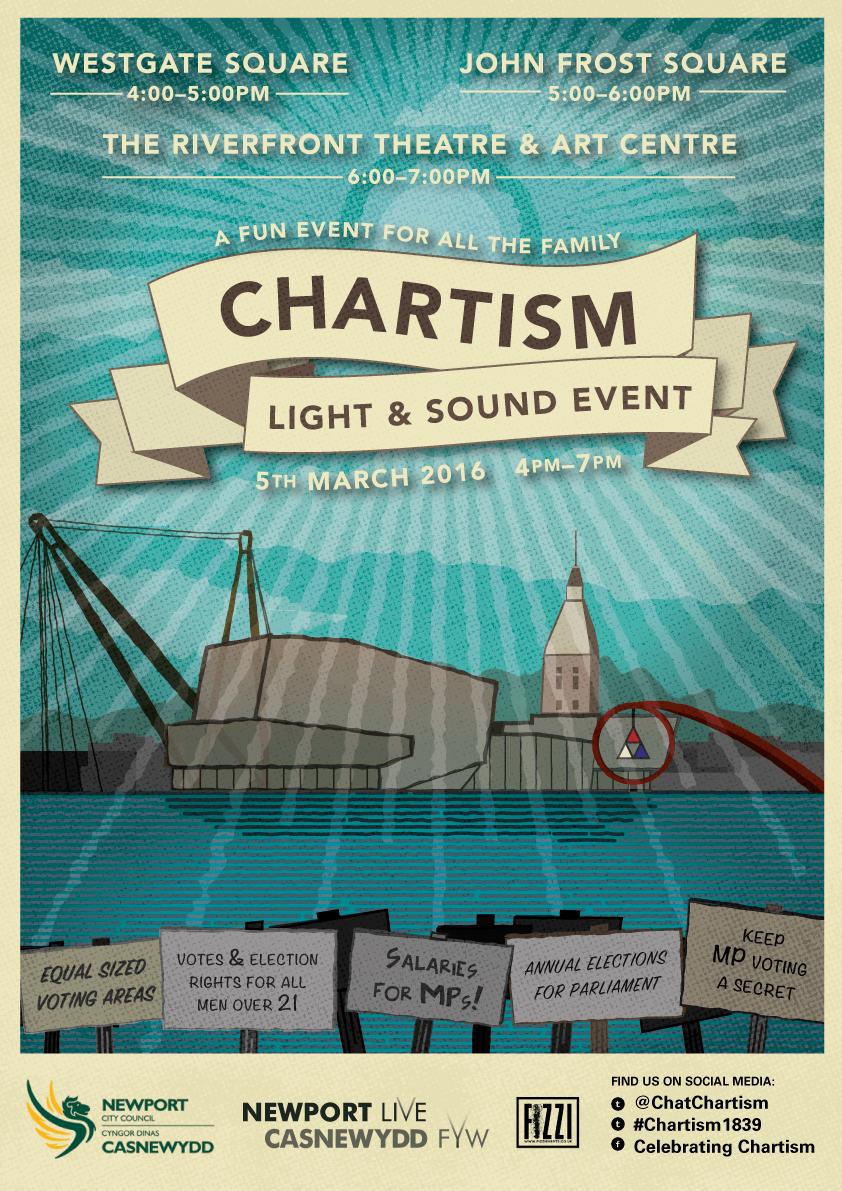 Chartism Light & Sound Event