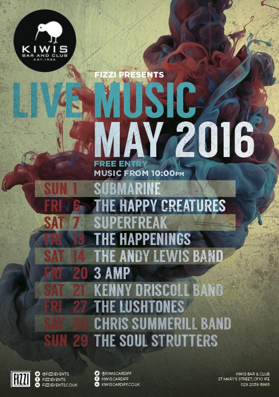 Kiwis: May Live Music