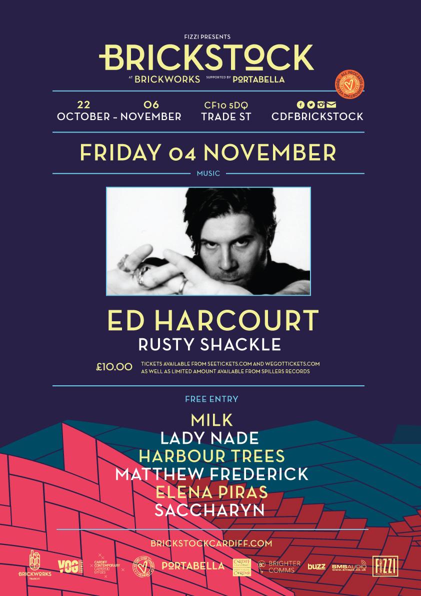 Ed Harcourt + Rusty Shackle