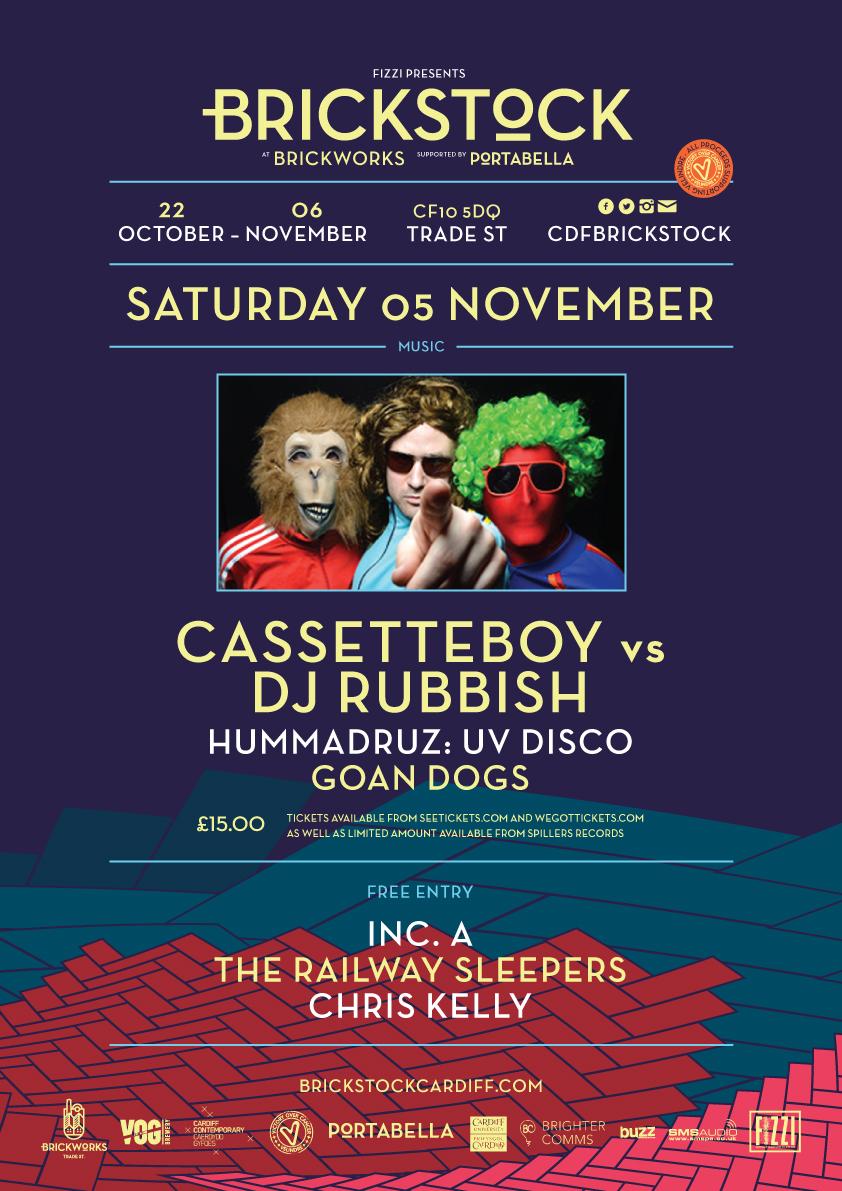 Cassetteboy Vs DJ Rubbish + Goan Dogs
