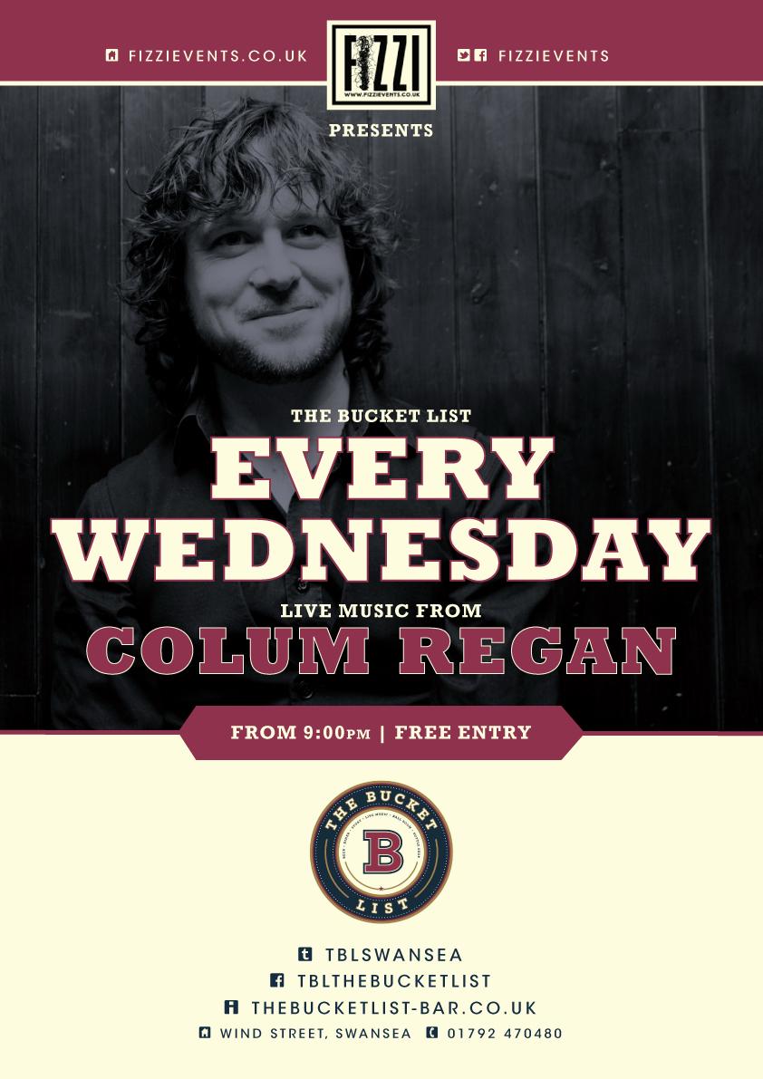 Colum Regan The Bucket List