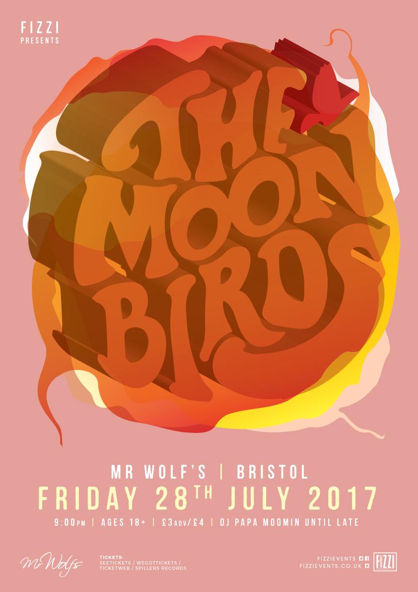 The Moon Birds – Mr Wolf's, Bristol