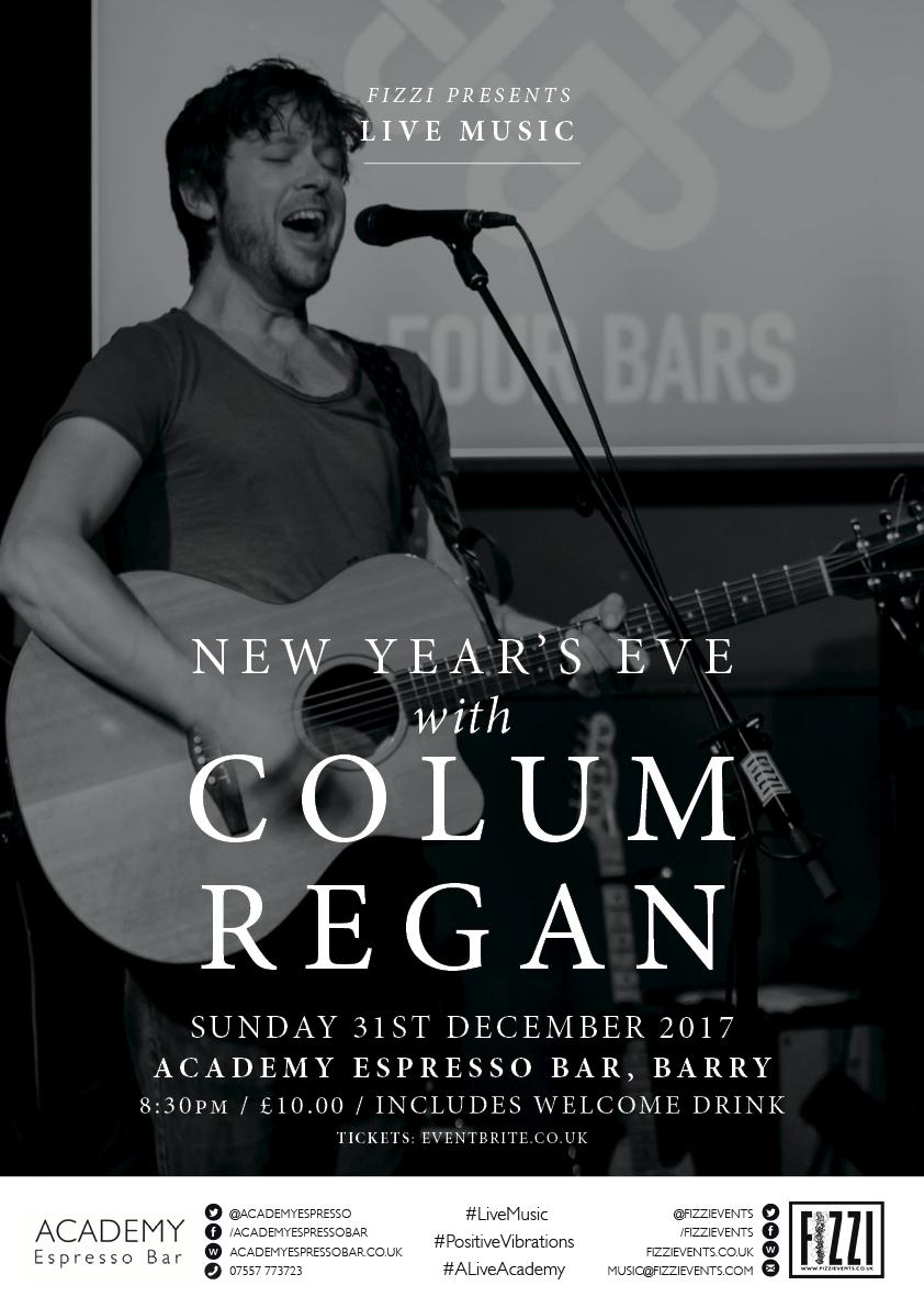 Colum Regan, New Year's Eve, Barry